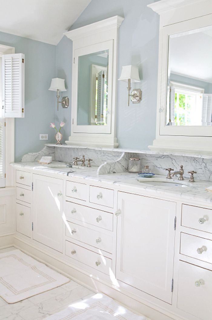 Blue And White Monday With Kathleen Dipaolo Bathrooms
