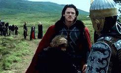 Luke Evans as Dracula (Untold)