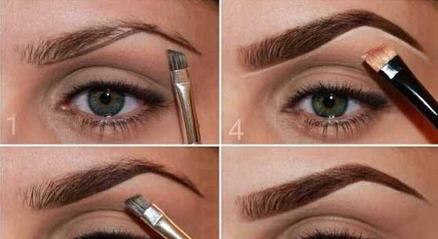 how to make my eyebrows look perfect