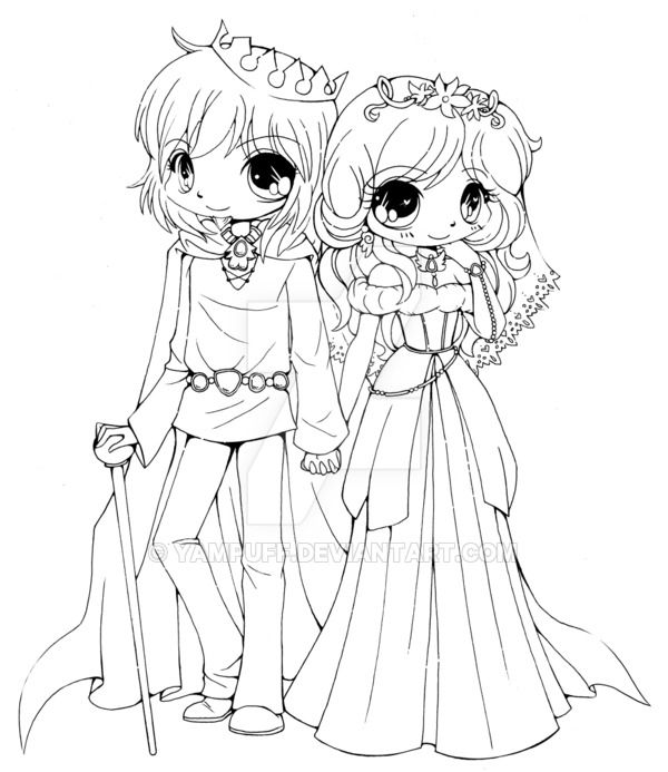Couple Commission Lineart By Yampuff Couples