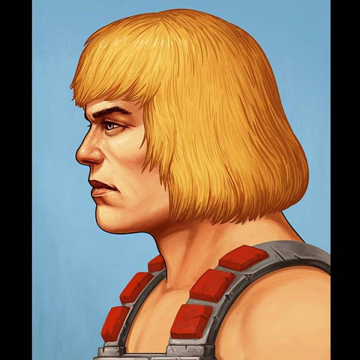 He-Man by Mike Mitchell