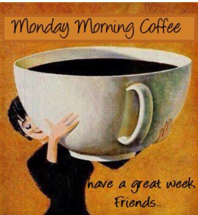 Monday Morning Coffee...Happy Monday Friends!