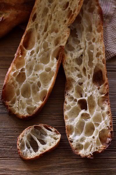 3 Variations on 36 hour sourdough baguette | The Fresh Loaf