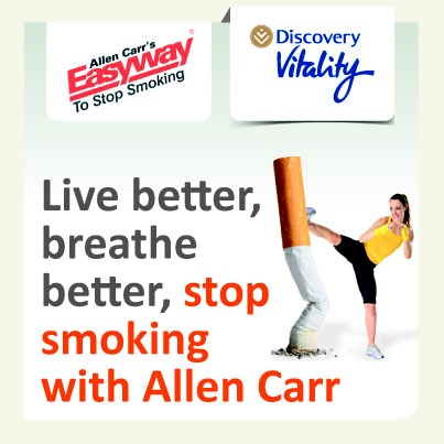 Stop smoking with Allen Carr's Easyway