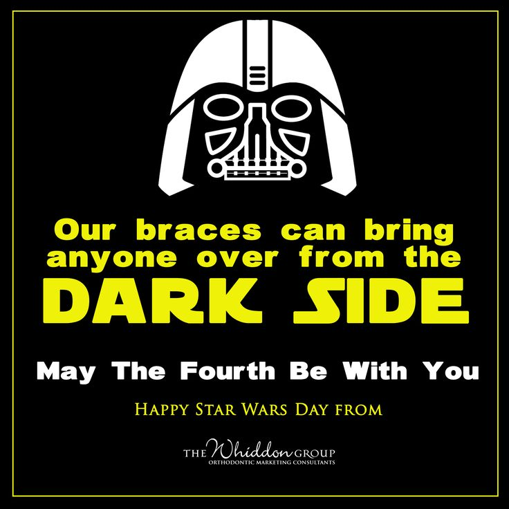 May The 4th Be With You Jokes: Best 25+ Orthodontics Marketing Ideas On Pinterest
