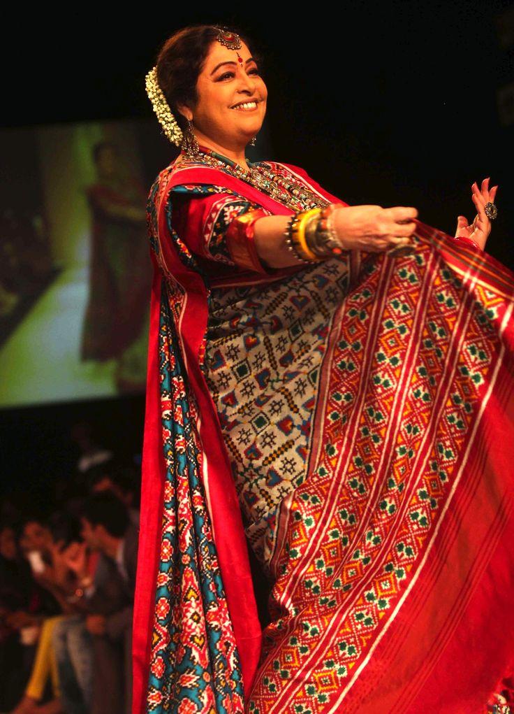 Lakme Fashion Week Autumn/Winter 2013: Kirron Kher for Gaurang