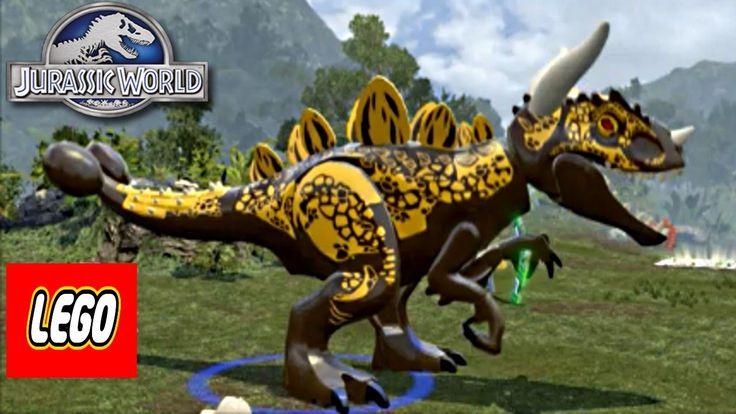 Jurassic World Lego Game Hybrid Indominus Rex Custom Dino Creator Episod...