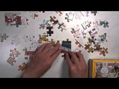 紙兎ロペのパズルをやってみた 紙兎ロペ パズルガム56ピース Paper Rabit Rope Puzzle - YouTube