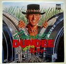 CROCODILE DUNDEE (1986) ADVENTURE, COMEDY  PAUL HOGAN, LINDA KOZLOWSKI 1-LD NM on eBay for $5