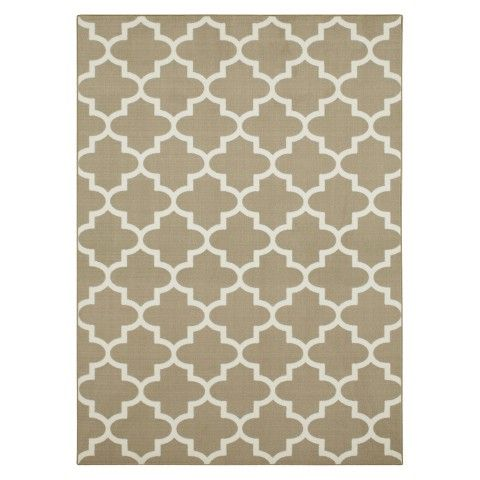 5 X7 Fretwork Design Area Rug Gray Threshold With Images