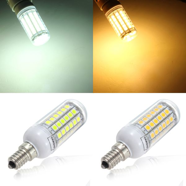 Amazing E14 5 5W 828LM 69SMD 5050 LED Power Energy Saving Corn Light Bulb 220V New Design - Awesome electric light bulb Minimalist