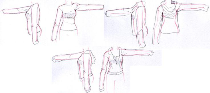 9 Chaquetas o abrigos largos de mujer | Drawing Costumes ...