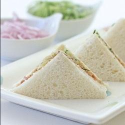 Malaysian style sardine sandwiches tea sandwiches alyce for Sardine lunch ideas