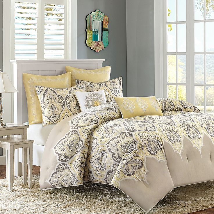 Madison Park Nisha 7-Piece King/california King Comforter ...