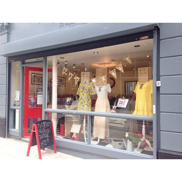 The Mary & Milly mannequins have been redressed for our new window display! Come and check it out at our must see boutique! Don't let the ongoing roadworks put you off! We're well worth it! 21 Guildhall Street, Preston City Centre! Or shop our collection online at www.maryandmilly.co.uk with FREE UK shipping!