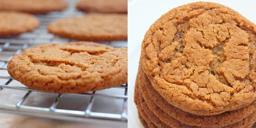 This is my all-timefavorite ginger cookie, and believe me, I've tasted my fair share.Over the past month, I've tried at least eight different recipes, all of which yielded cookies that were either too hard, too soft or overpoweringly spicy. This one is perfect: it's got just the right balance of spices — ginger, cinnamon, cloves, …