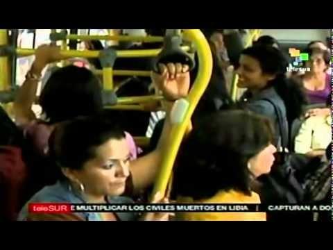 Guatemala posee transporte público sólo para mujeres