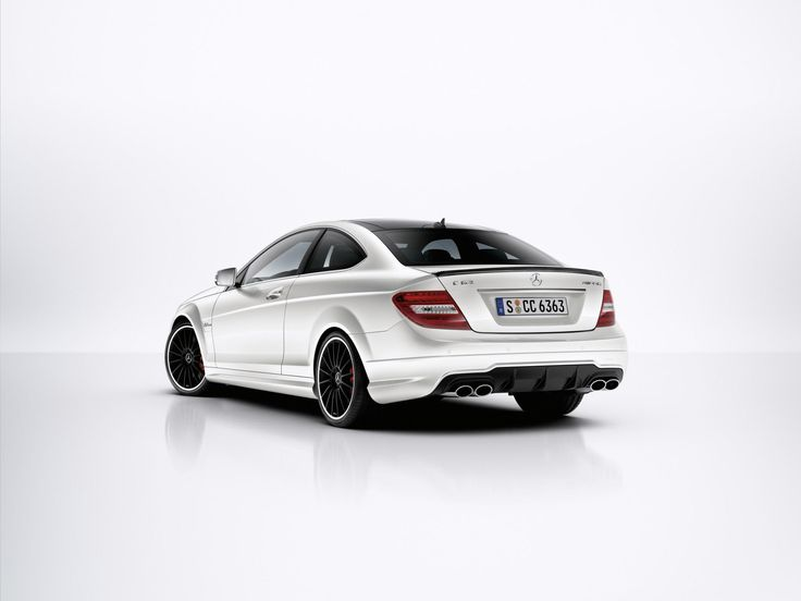 2014 Mercedes C Class Coupe Rear View