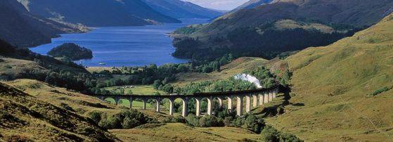 Steam trains through Scotland's breathtaking scenery!