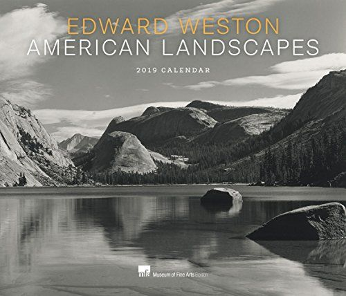Edward Weston American Landscapes 2019 Wall Calendar - Featuring thirteen stark, spectacular photographs of the American landscape by renowned artist Edward Weston, a pioneer of American modernism in the early 20th century, this calendar is printed as duotones for the finest reproduction quality possible. All the images are from MFA Boston's La...
