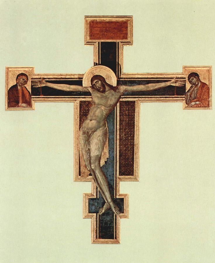Cimabue (Firenze, 1240 circa – Pisa, 1302). Il Crocifisso di Santa Croce