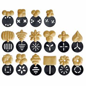 Sprint cookie press shapes - Wilton Cookie Pro cookie press