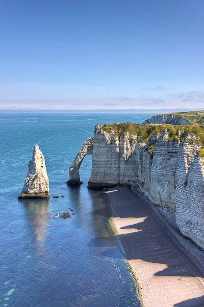 tretat, Normandy France... One of of my favourite places in the world. So many happy memories. #travel #budgettravel #france