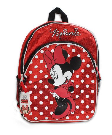 Look what I found on #zulily! Red Minnie Mouse Backpack #zulilyfinds