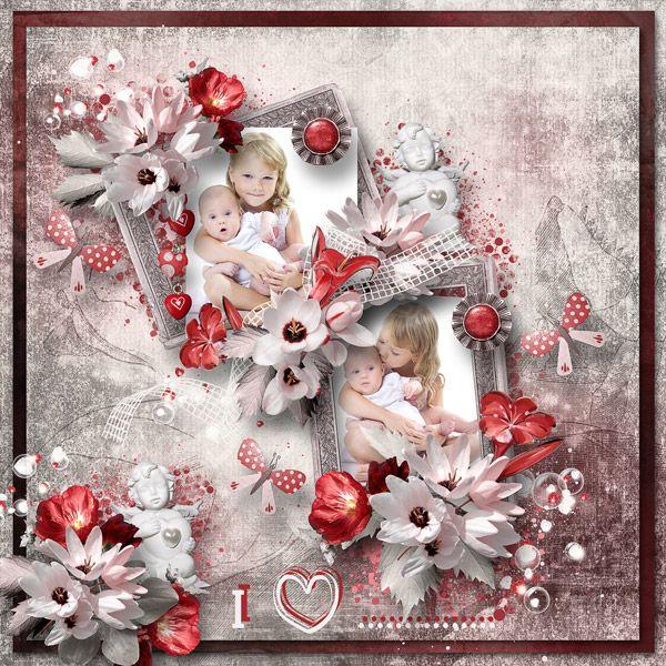 """My Secret Valentine"" by Feli Designs https://www.digitalscrapbookingstudio.com/feli-designs/"