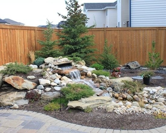 17 best images about waterscape ideas on pinterest for Waterscape garden designs