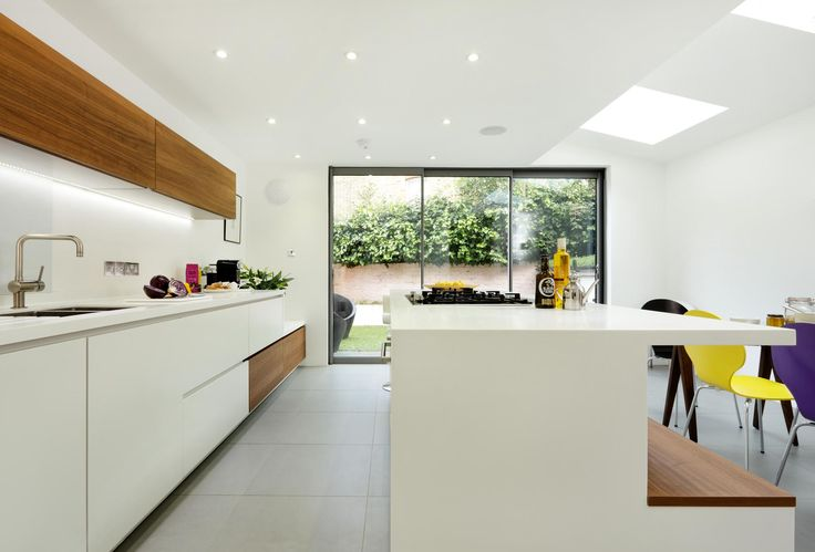 Hayes #Alno Star Fine #White #Matt. A #smooth #texture and matt #lacquered #surface provides a #contemporary and #sleek #finish. Door available with #handles and with #handle-less #design.  #halcyoninteriors #kitchens since1981 #beaconsfield #pinner #wigmore street