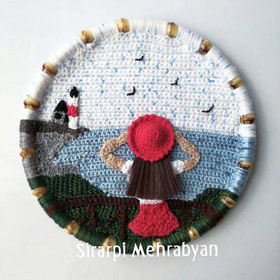 25+ Best Ideas About Crochet Wall Art On Pinterest