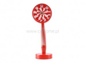 Budzik na sprężynowej nodze WANTED Lollypop czerwony  http://www.citihome.pl/budzik-na-sprezynowej-nodze-wanted-lollypop-czerwony.html