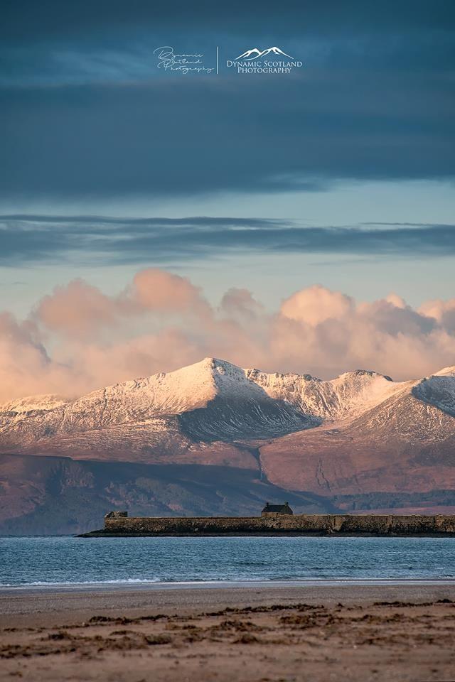 Isle of Arran & Saltcoats Harbour, Scotland