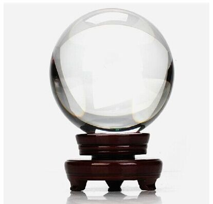 Free shipping ultra clear no air bubble huge size 250mm diameter crystal ball for home decoration