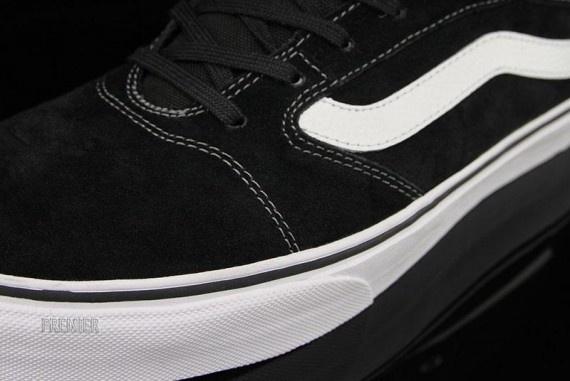 Vans TNT 5 Mid – Black – White – Pewter