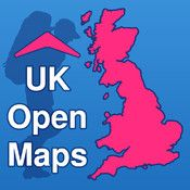 UK Open Maps - GPS with Free Map Downloads and Route Finder