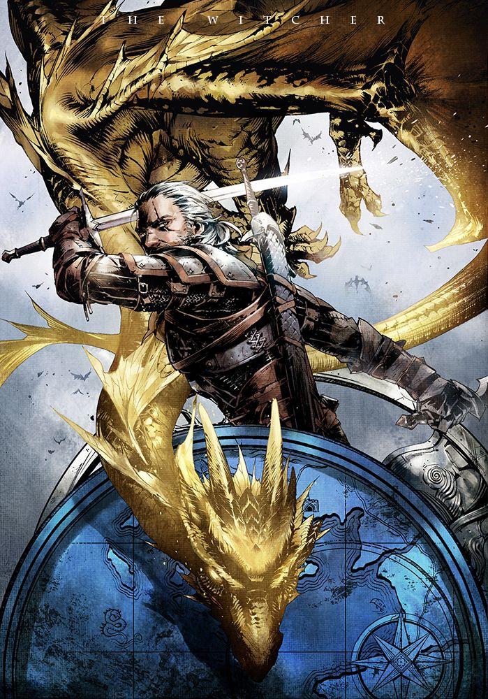 Geralt & Villentretenmerth. Badass!