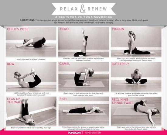 Relaxing Yoga Sequence