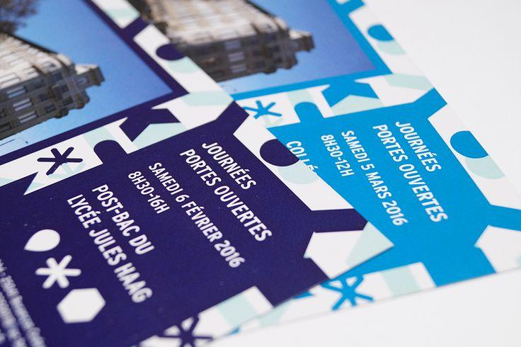 communication culturelle, graphisme pour un lycée, édition culturelle, calendrier lycée besançon, édition lycée jules haag, édition jules haag, calendrier jules haag, graphisme institutionnel, carton d'invitation lycée jules haag, carton d'invitation porte ouverte