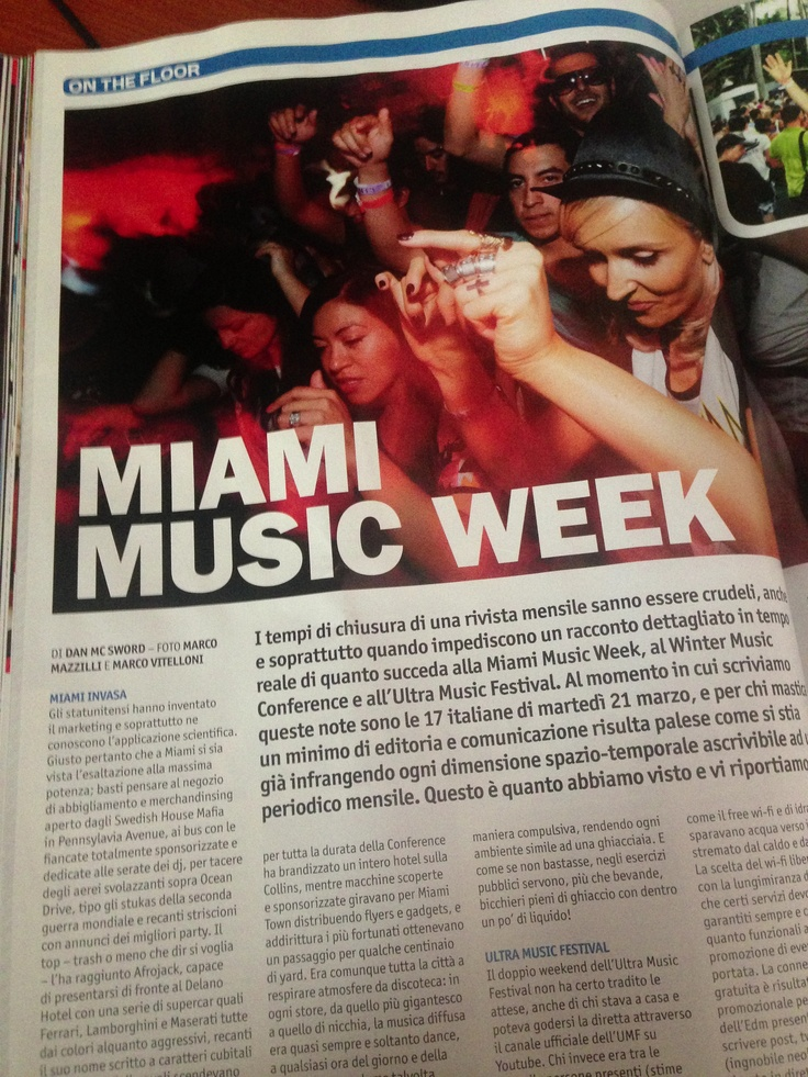 Miami Music Week @djmagitalia @miamimusicweek @ultramusicfestival #miamibeach @vizicapitali @danielespadaro
