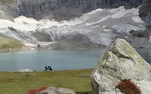 Ratti Galli Lake, Neelum Valley, Azad Kashmir, Pakistan.