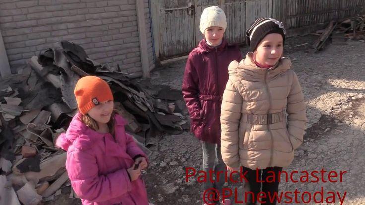 (Рус суб) 24-часовой артобстрел Донецка оставил множество разрушенных домов