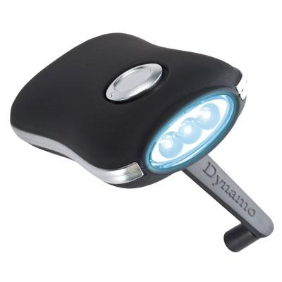 Lampe Torche Dynamo - Tarifs sur devis (contact@objetpubenligne.com) -  TO596077 Même sans électricité vous aurez de la visibilité dans l obscurité. Cette lampe dynamo, sans pile, fonctionne en tournant la manivelle tout simplement. Optimal pour les activités à l extérieur, en cas de coupure de courant, les pannes de voiture en pleine nuit, etc. Tournez la manivelle, l énergie sera accumulée par la batterie. La gravure laser se fera en-bas du bouton. Chaque lampe de poche est emballée dans…