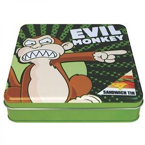 Doosje Evil Monkey - Half Moon Bay, kinderen - leuke cadeautjes, keuken - lunchboxen & tassen, kinderen - lunchboxen & tassen, Per merk - Half Moon Bay