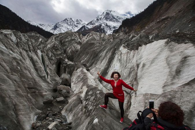 Officials in the far western region say that tourism is harming the fragile glaciers and that they should be observed from a distance.