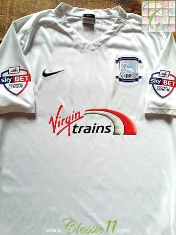Relive Preston North End's 2015/2016 season with this original Nike home football shirt.