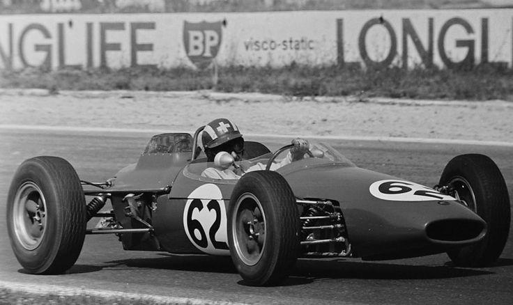 Jo Siffert - Brabham BT10 Cosworth SCA - Siffert Racing Team - XXX Grand Prix de Reims - 1964 Trophées de France, Round 3