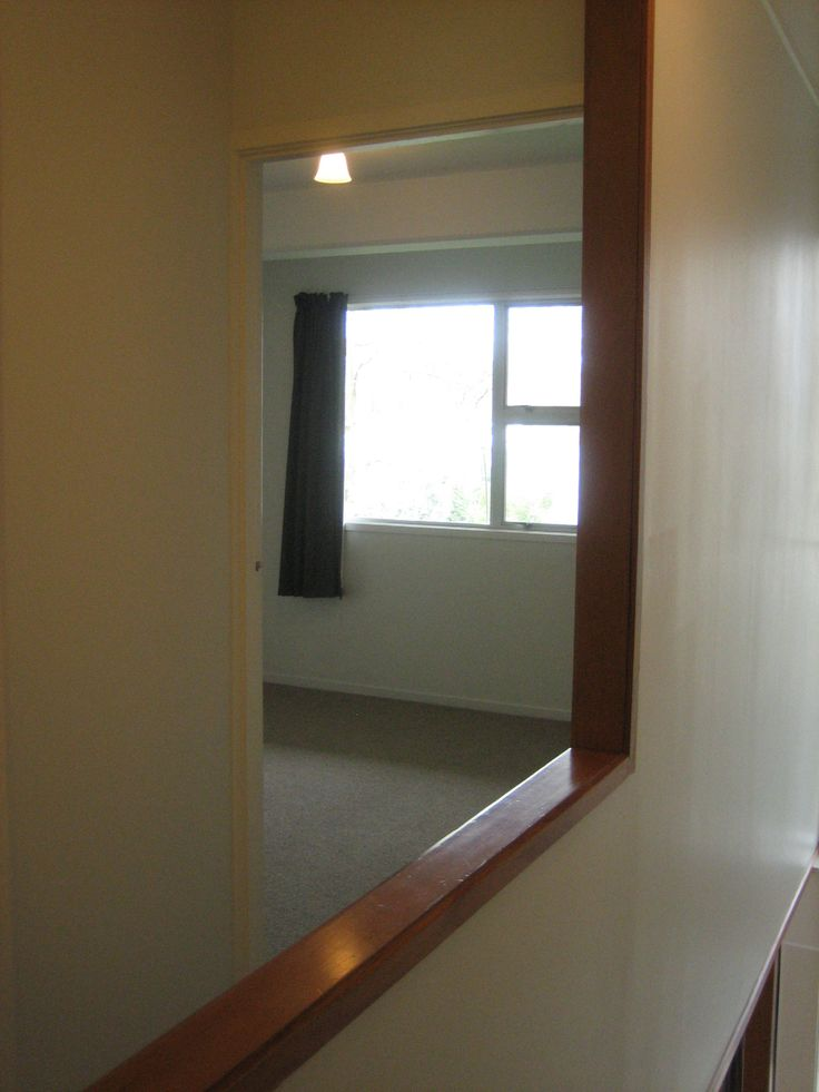main bedroom from top of stairs