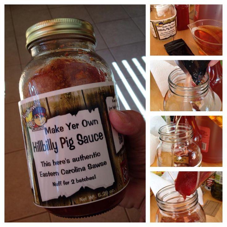 HillBilly Pig Sauce easy and fun. www.nephewsbbq.com
